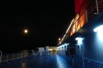 En-route for Patras, Greece
