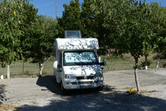 Ancient Corinth campsite