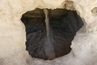 Ancient tombs at Fourni