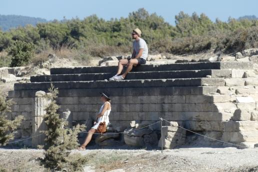 Chillin at Ancient Kamiros