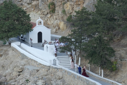 Wedding at Lindos