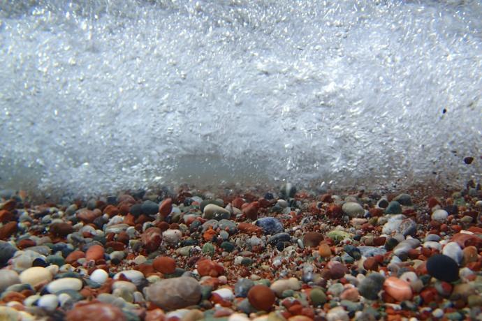 Inside a wave, Mojitos Beach