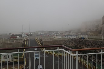 A very foggy Dieppe