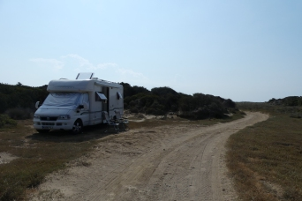 A great overnight stop, just a few meters from the sea