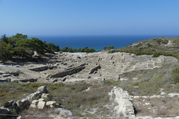 Ancient Kamiros, a place for meditation