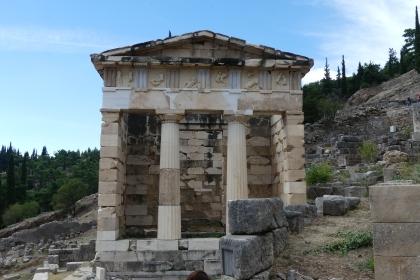 The treasury, Delphi