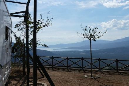 Our view at camping Delphi
