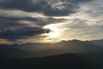 Sunset at Delphi