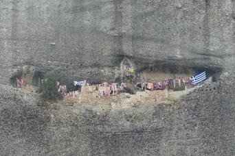 Climbers flags, Meteora