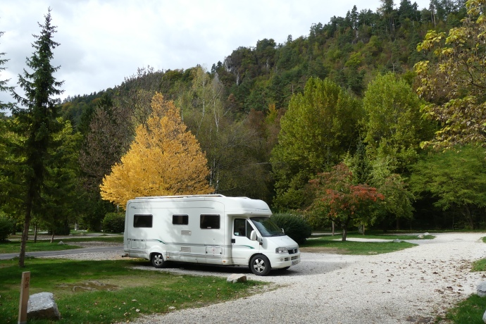 Camping Lake Bled, Slovenia