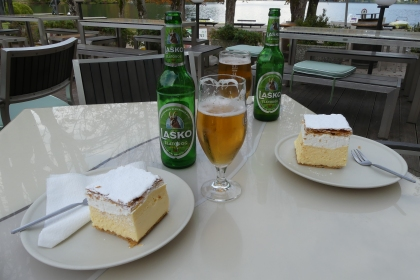 Lunch - Lake Bled, Slovenia