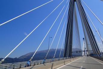 The amazing Rion-Antirion Bridge, Greece