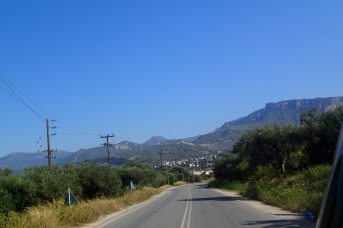 Mainland Greece, typical road