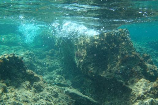 Haraki Bay, exploring a reef break