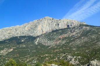 Athens to Delphi, through the mountains