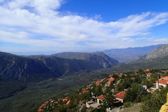 The view from Arachova