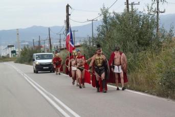 Delphi to Meteora - some sort of festival