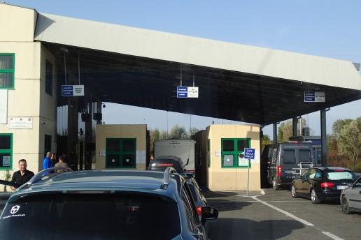 The border to Montenegro