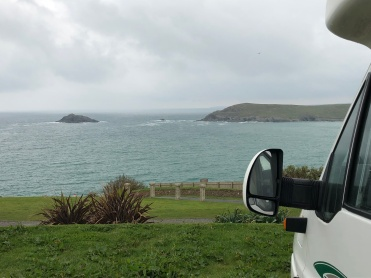 Overnight stop at West Pentire