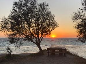 Sunset at Limni