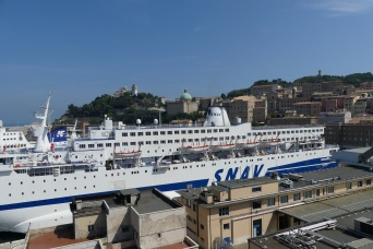Stopping off at Ancona