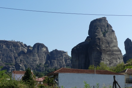 Meteora from our campsite
