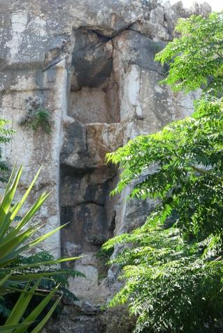 A rare ancient vertical tomb at Kamiros Skala