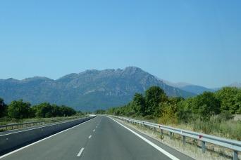 Driving, mainland Greece