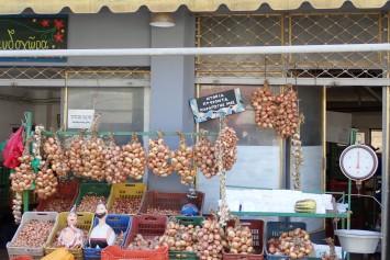 Roadside onions, Greece