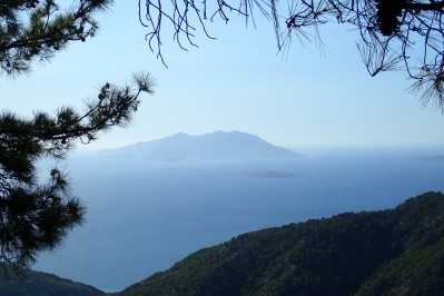 The islands of Chalki, Alimia and Tilos
