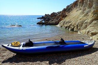 Cove hopping, Rhodes