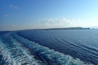 Leaving Rhodes