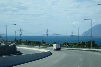The famous Rio-Antirrio Bridge