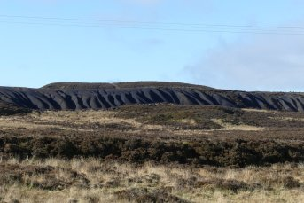 Spoil tip from Big Mine, Blaenavon