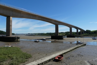 The new bridge at Bideford