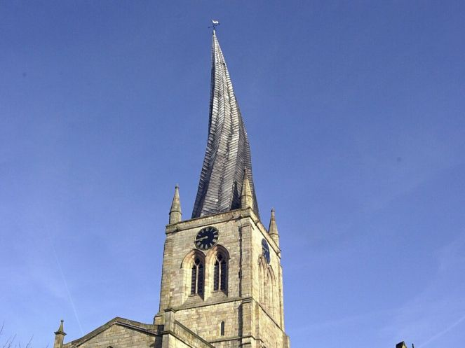 The crooked Spire at Chesterfield