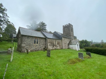 St Mary's in Oare, where Lorna Doone was shot by her half brother
