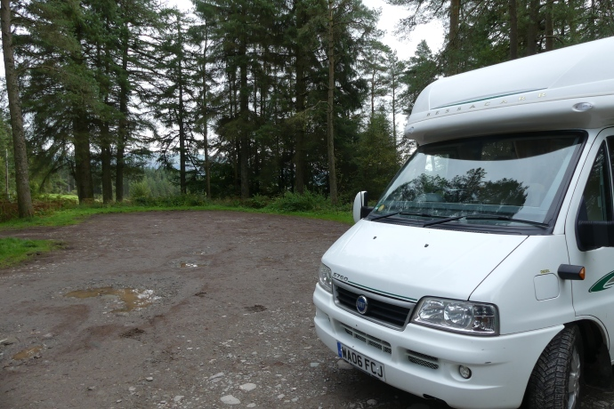 Overnight at Drymen Woods, Loch Lomond