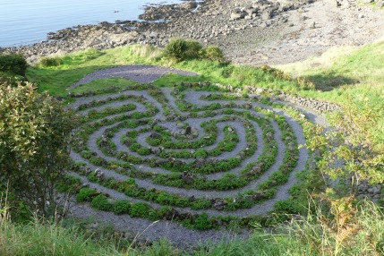Dunure labyrinth