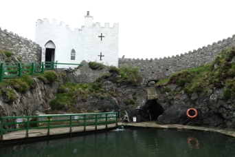 Port Logan's fish pool, an 18th century fish larder