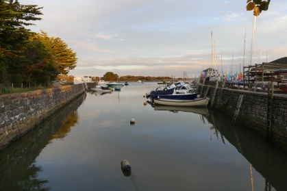 Keyhaven - tranquil overnight stop